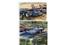 i have a 16 foot and 6 feet equipment trailer for sale