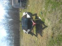 16 foot trailer, new tires, storage box, heavy duty,