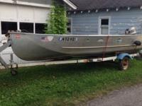 Reduced!! Great boat for small lakes. I have a 16 ft.