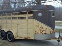I have a 16 Ft. stock trailer for sale, it is 6 Ft.