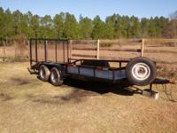 16ft 7500 tandum axle with electric brakes on both