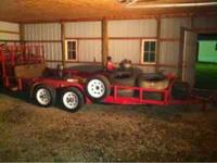 I have a 16 ft trailer heavy duty 6 lug wheels with new