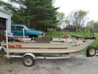 I have for sale a 16 foot v-hull aluminum Bass Tracker