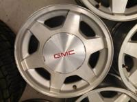 "16"" GMC Yukon aluminum wheels came on 2003-2006 will"