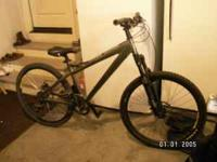 Very nice haro mountain bike with upgrades. Bought the