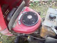 Good running 16 hp v twin briggs and stratton vertical