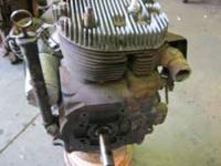 Engine was rebuilt in 2001 and not used much. 250 no