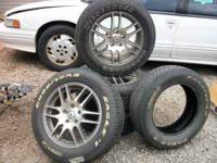 4 AMERICAN RACING RIMS ... (IN EXCELLENT CONDITION)...5