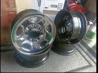 16 Inch 8 Lug Wheels Rims 8x6.5 complete with Chevy