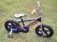 "I have for sale a Boy's 16 inch Mongoose ""Racer X """