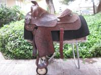 16 in Equation Saddle for sale. Excellent condition,
