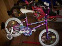 here i have an excellent condition 16 in girls bike