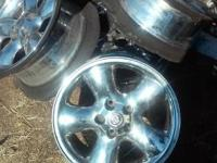 Have a set of 4 16 inch factory custom wheels for sale.