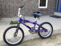 Blue 16 inch kids Specialized Vegas bike for sale.