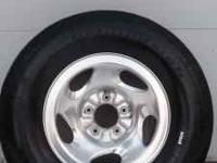 Great deal on a set of four wheels and tires off a 1998