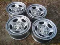 "These are New 2006 Dakota Rims Aluminum. 16"" 8""wide -w-"
