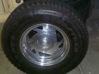 16'' rims for sale Cheap 4 tires have 90% tread,....