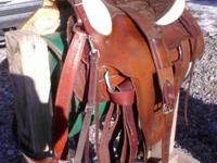 Ful QH bars roping saddle call for info  // //]]>