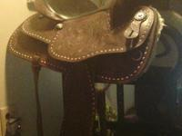 I have a 16 in western saddel in like new condition, it