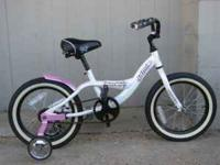 "Jamis Miss Daisy 16"" Girl's Bike w/ Removable Training"