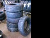 I have a lot on a terrific set of used tires! I am