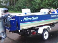 Pampered.....1990 16' MirroCraft Troller LTD. 1996