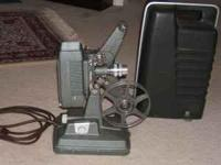 WOLLENSAK 16 mm PROJECTOR (NO SOUND) - LIKE NEW - JUST