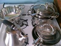 Moving out sale.  16 pc Chefmate cookware set.