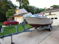 16' Pennyan Runabout with  50 hp Mercury engine runs