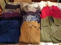 I am selling a box of Women Clothes that total 16