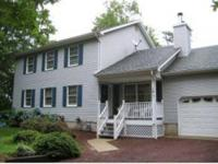 Custom designed center hall colonial with full basement