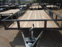 2011 Big Tex Tandem Axle Pipe Top Utility Trailer.