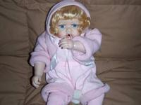 "16"" ~ Genuine Fine Bisque Porcelain Collectible Doll ~"