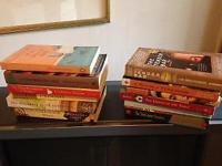 16 recent novels, all are still in like new condition.