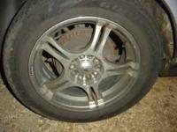 i HAVE FOR SALE A SET OF 16 INCH RIMS I PAID 850 FOR