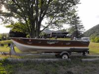 Type:Boat and Trailer16' Smoker Craft Fishing Boat with