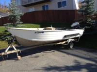16' smokercraft with 40hp evinrude. Works great on
