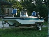 16' Tahoe, 90 HP Merc. 2 Live wells, Trolling motor and