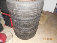 I have 4 pre-owned tires for sale currently on the
