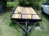 newly built 16 ft trailer 800 obo please email or call