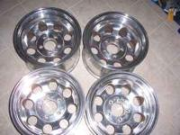 16X10 Ultra lightweight aluminum wheels for a Ford F150