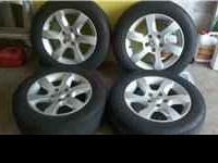 "I have for sale a set of four 16 x 7 five lug 4.5"" oem"