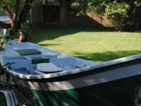 Selling 16' whitewater dory, hull is build by Lavro,