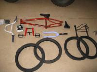 I'm selling some BMX parts. Selling everything for