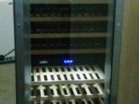 Brand New 160 Bottle Capacity Dual Zone Wine Cooler