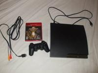 I have a 160 gig PS3, Wireless Controller, and an