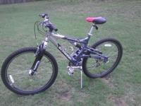 This bike is in very good condition. Ridden less than