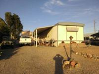 We have for sale a 2 room 2 bathroom mobile home in the