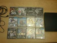 160GB PS3 with 12 games !!!  This is a great deal !!!