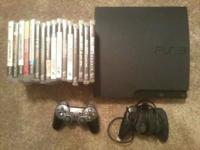 Selling a 160GB PlayStation 3 with 2 controllers, HDMI
